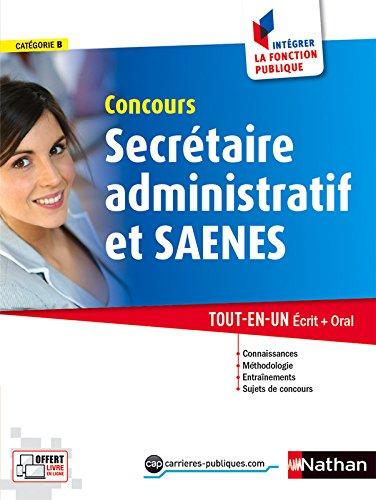 Concours Secrtaire administratif et SAENES