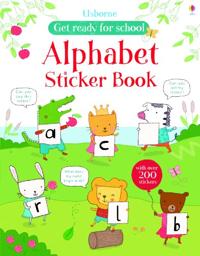 Alphabet sticker book (Get Ready for School Sticker Books)