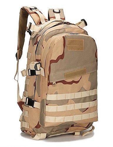 HWB/ 2 L Rucksack Camping & Wandern Draußen Multifunktions Armeegrün Nylon Other Black