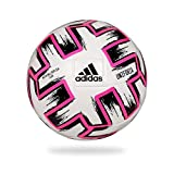 adidas Ball (Machine-Stitched), Pallone da Calcio Uomo, White/Black/Shock Pink, 5