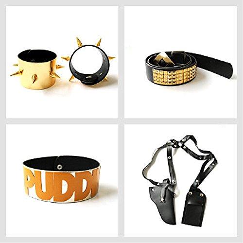 Preisvergleich Produktbild icase4u® Erwachsene Cosplay Kostüme Set für Halloween (Einheitsgrösse,  E4 Sätze Zubehör)