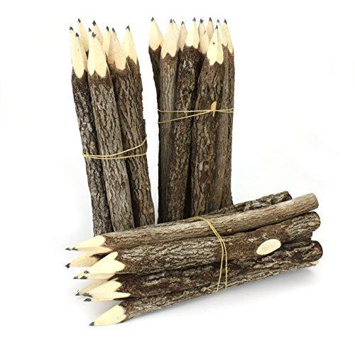 Bleistiftbündel, Thailand, Groß, Schwarz, 3 Stück -
