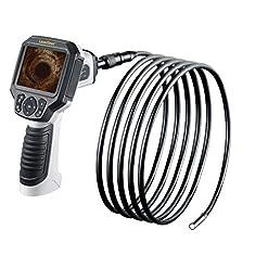 Laserliner VideoFlex G3 Ultra – industrial inspection cameras (Flexible-Obedient probe, Black, White)
