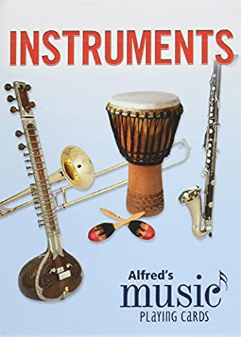 Alfred's Music Playing Cards -- Instruments: 1 Pack, Card