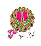 #8: Laddu Gopal Dress Super Soft Multi Color kanha ji Dress Size 2 No