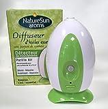 Diffuseur Spray Automatique à Froid d'Huiles Essentielles avec Détecteur de Mouvements - Fonctionne avec Piles Non Fournies - Nature Sun Aroms