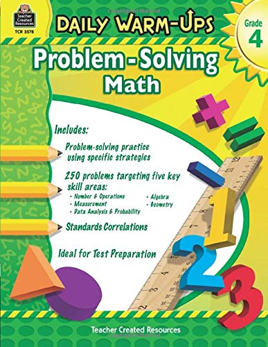Daily Warm-Ups: Problem Solving Math Grade 4: Problem Solving Math Grade 4 (Daily Warm-Ups: Word Problems)
