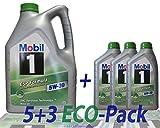 MOBIL 1 ESP FORMULA 5W-30, 8 Liter (5 lts + 3 x 1 lt)