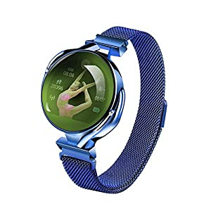 Aliwisdom Bluetooth Smartwatch für Damen, Outdoor Sports IP67 wasserdicht Intelligente Armbanduhr für Android und ios System, Support-Anruferinnerung und Nachrichtenerinnerung