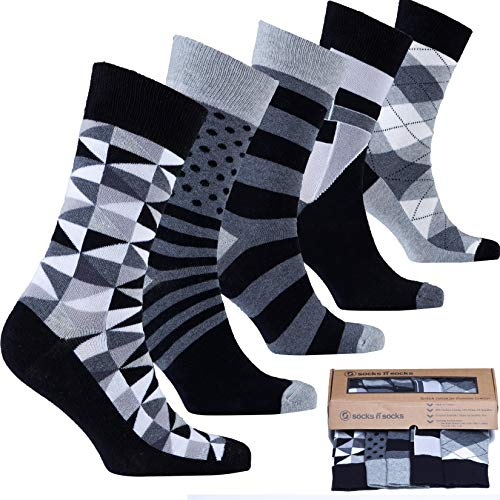 Polka Dot Happy Socks Mens 10-13 Size Large Limited Edition With Amazon Box Clothing, Shoes & Accessories Men's Clothing