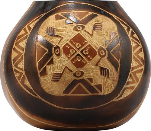 the-mate-factor-assorted-carved-gourd-from-argentina-1-piece-by-the-mate-factor