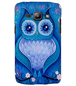 SAMSUNG GALAXY J1 OWL Back Cover by PRINTSWAG