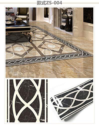 KLMWDDBT Fliesenaufkleber Wohnzimmer-dekorationsbodenbelag Dekorativer Aufkleber Imitation Marmor Selbstklebender Wasserdickfester Dekorationsaufkleber 10x500cm10x500cm ZSXT-004 -