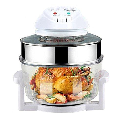 Infrarot-tischplatte (Genuinestar C11 1300W 12L Infrarot Halogen Tischplatte Konvektion Toaster Ofen mit 5 Quart Extender Ring Küche Kochen Zubehör)