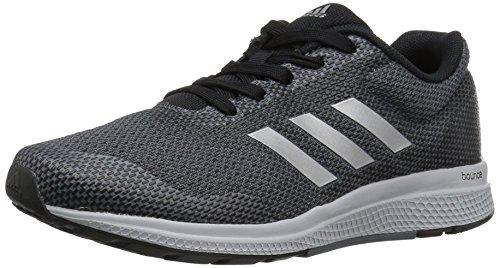 2w Womens Athletic Schuhe (adidas Performance Women's Mana Bounce 2W Aramis Running Shoe, Black/Metallic/Silver/Onix, 10.5 M US)