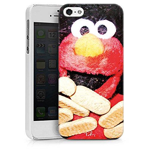 Apple iPhone X Silikon Hülle Case Schutzhülle Oliver Rath Elmo Sesamstraße Hard Case weiß