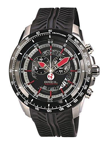 Breil orologio analogico quarzo uomo con cinturino in silicone tw1488