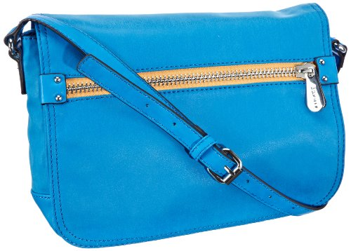 ESPRIT Borsa Messenger, Esprit Tasche, blu  Blau (Strong Blue 431), P15010 Blau (Strong Blue 431)
