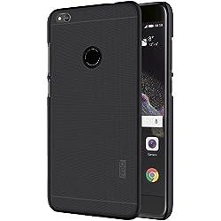 Huawei P8 Lite 2017 Custodia - IVSO Ultra Slim Protettiva Case Cover Custodia per Huawei P8 Lite 2017 Smartphone (Slim Fit Series - Nero)