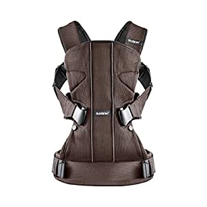 BABYBJÖRN Baby Carrier One Mesh (Brown/ Black)