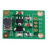 tinxi® Convertidor DC DC Boost KSQ 1-5 V a 5V 500mA Step Up reduce el módulo Arduino Elevador DC-DC 5V módulo L-1V 5V