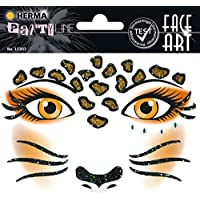 FACE ART STICKER LEOPARD