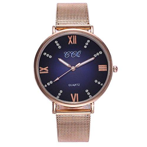 EARS Frauen CCQ beiläufige QuarzLeder Men Women Fashion Creative Watches Sports Watch Basic Band Marmorband-Uhr-analoge Armbanduhr Casual Band Marble Strap Watch Analog Wrist Watch (A)