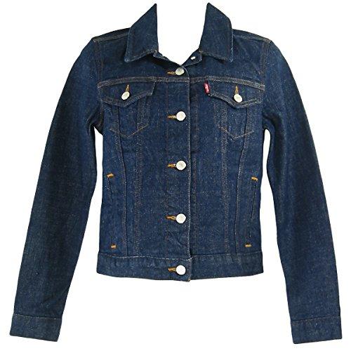 Levi's Damen Jacke Original Trucker Blau (Love Street 0010)