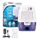 Yorbay Luftentfeuchter(500ml Wassertank,250 pro Tag,Raumgröße ca.10-15 m²)elektrisch Raumentfeuchter gegen Feuchtigkeit , für Schlafzimmer, Wohnzimmer, Keller, Garage usw - 7
