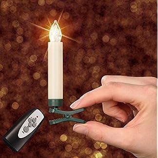 25-er-40-er-Set-LED-Weihnachtskerze-ElfenbeinCreme-Dimmbar-Flackermodus-Timer-GS-geprft-Hansecontrol-Testnote-17-kabellose-Weihnachtsbaumbeleuchtung-fr-Innen-und-Auen