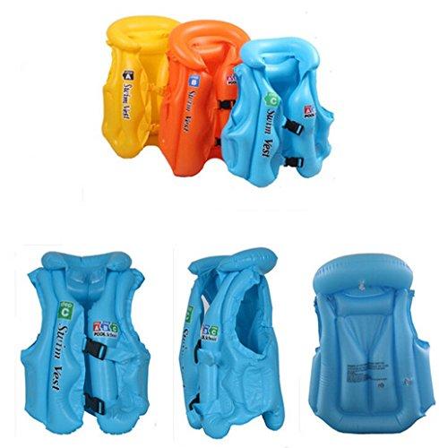Omos Kinder Erwchsene Schwimmen Schwimmweste Badeanzug Verdickene Stoffdruck Säugling Aufblasbare SchwimmenSpielzeug (Farbe Random) (C)