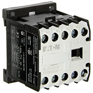 Eaton XTRM10A22TD XT Control Relay, 4PST-2NO / 2NC Contact Configuration, 24VDC Coil Voltage