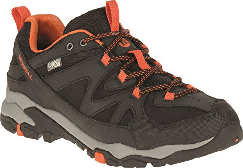 Merrell Tahr Bolt, Chaussures de Randonnée Basses Homme Multicolore (Black/Merrell Orange)