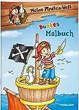 Meine Piraten-Welt: Buntes Malbuch: Mit 16 bunten Seiten! (Malbücher und -blöcke)