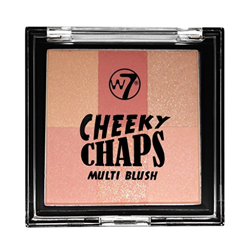 Multi Blush Compact (W7 Cheeky Chaps Multi Blush Compact Blusher-Pick N Mix)