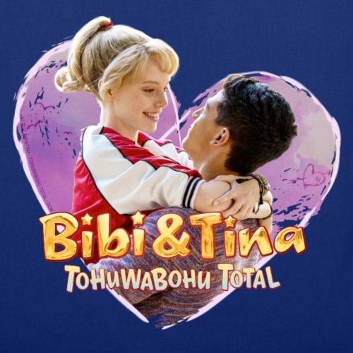 Spreadshirt Bibi Und TinaTohuwabohu Total Verliebt In Tarik Stoffbeutel Royalblau