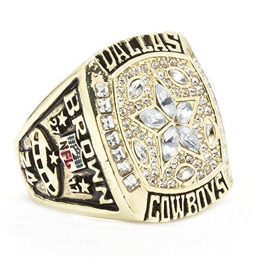 LANCHENEL Titan Dallas Mann 1995 Dallas Cowboys Championship Ringe,Größe 57(18.1)