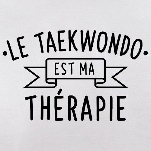 Le taekwondo est ma thérapie - Femme T-Shirt - 14 couleur Blanc