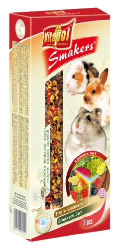 vitapol-smakers-treat-stick-mix-for-rodents-fruit-vegetable-carob-includes-3-sticks