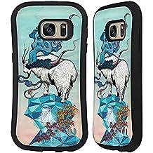 Officiel Mat Miller Recherche De Nouvelles Hauteurs Animaux Étui Coque Hybride pour Samsung Galaxy S7