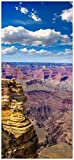 posterdepot Türtapete Türposter Felsenschlucht im Grand Canyon Park Arizona - Größe 93 x 205 cm, 1 Stück, ktt0628