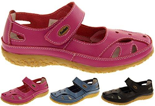 Coolers Cuir Mary Jane Ballerines Chaussures d'Eté Femmes