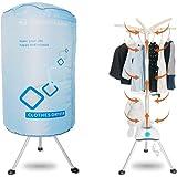Concise Home Nuevo Secador eléctrico portátil 1000 W Gran Capacidad 10 kg Doble aleación de Aluminio Ahorro de energía Ropa h