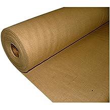 Pandoras Upholstery - Tessuto in juta, 1 m, pesante e resistente, colore: naturale