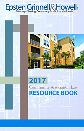 2017 Community Association Law Resource Book (English Edition)