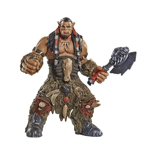 Warcraft Mini Figure Durotan & Alliance Soldier Action Figures (2 Pack) by Warcraft 1