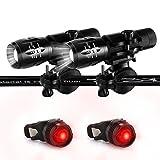Jowbeam Fahrradbeleuchtung,BBQ Grilllicht,KOSTENLOSE LED Rücklichter,Fahrradlicht Set Wasser& Wetterresistent, Einfach Anzubringen Fahrradlampe 2 packs