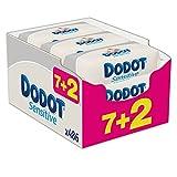 Dodot Sensitive - Toallitas, 9 paquetes de 54 unidades - DODOT - amazon.es