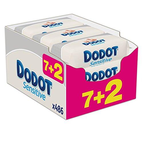 dodot-sensitive-toallitas-9-paquetes-de-54-unidades