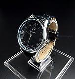 Mercedes Benz quarzo tondo orologio sportivo quadrante nero cinturino nero + batteria di ricambio libero + free Gift bag